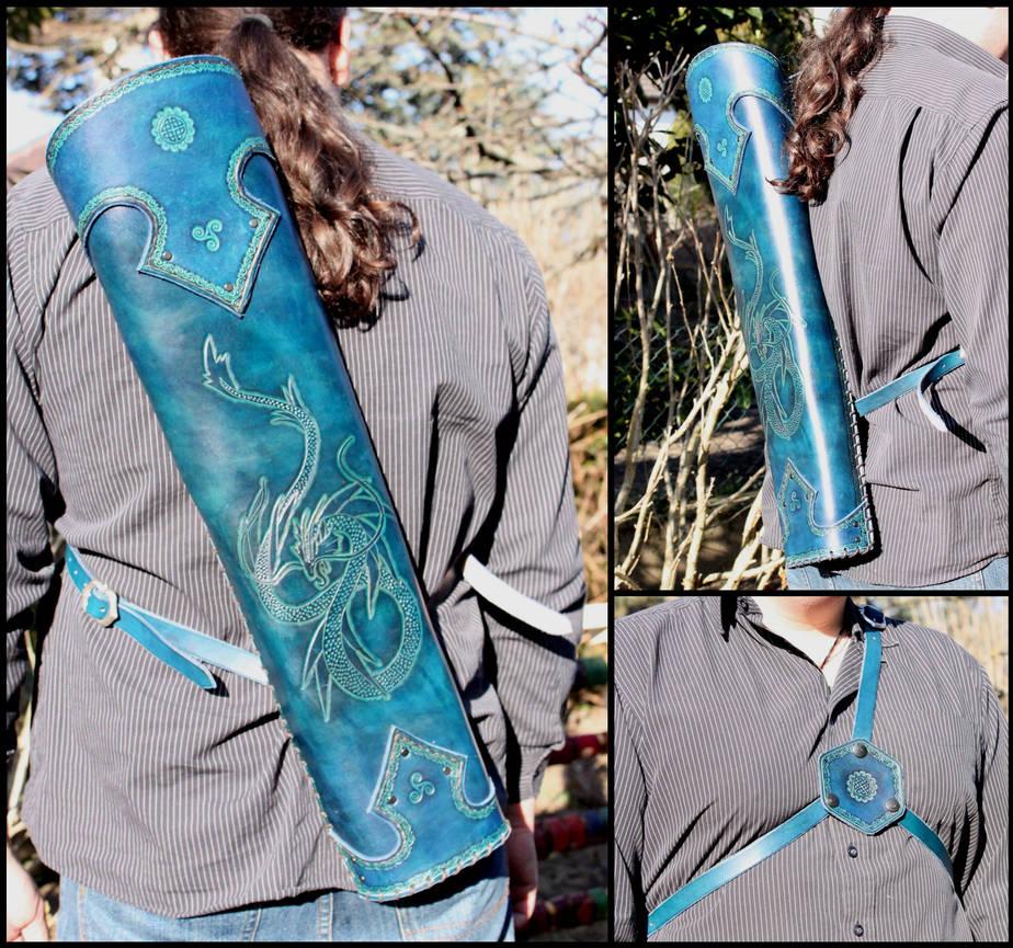 Blue leviathan quiver