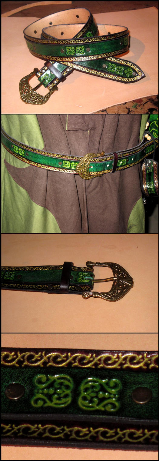Rogue-sorcerer : the belt by akinra-workshop