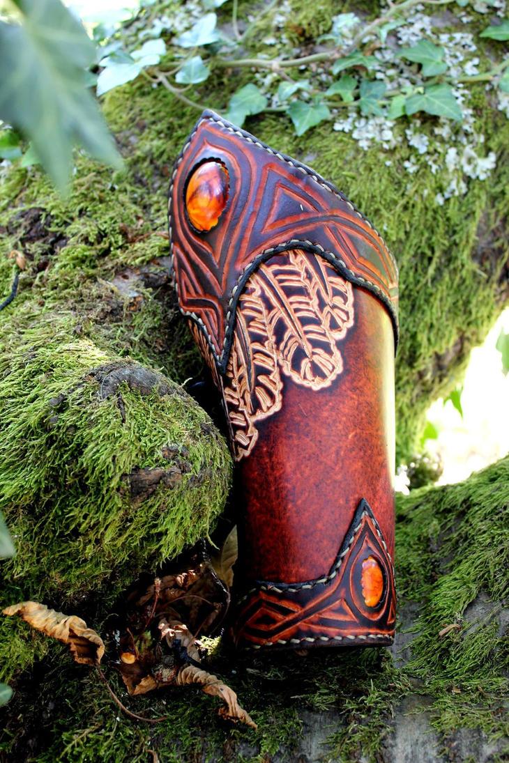 Valkyrie arm bracer by akinra-workshop