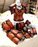Female full set of armor