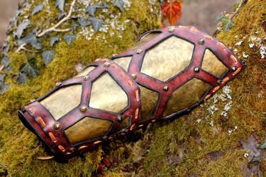 Telarian armor : first step, the bracer