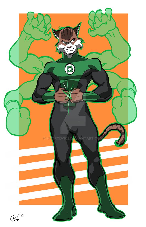 Green Lantern Prowl by HotRod-302
