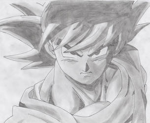 Goku base by Edgarcillo2000