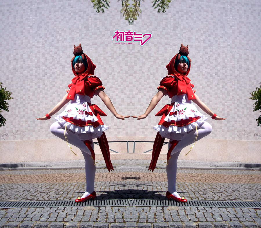 Hatsune Miku - Clover Club 01 by MiayahMilles