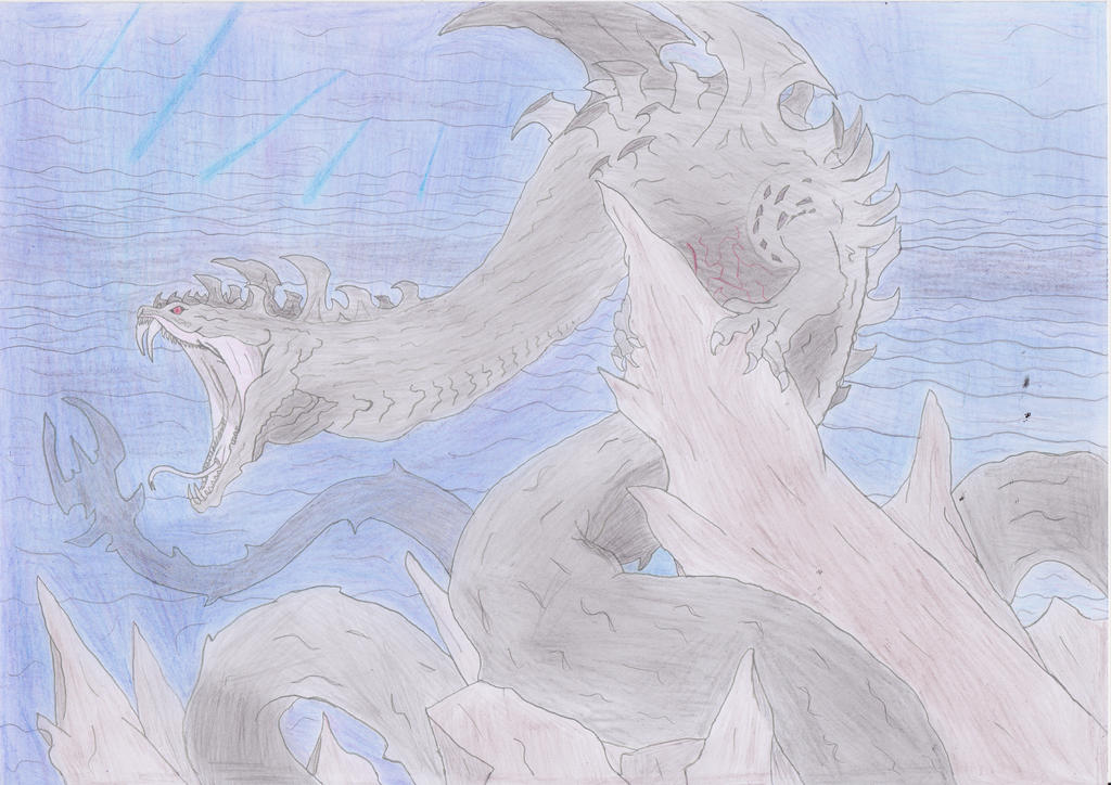 Dalamadur, the Dragon-Snake God by qsdfghjklmazertyuiop