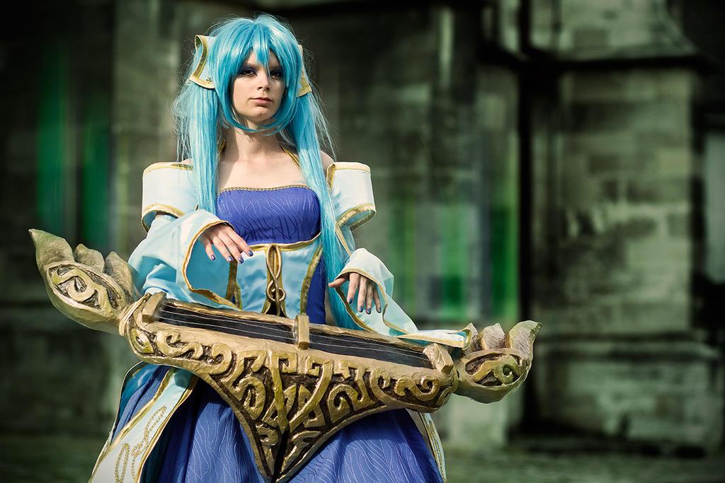 LoL Cosplay: Sona 2 by Pixelated-sk on DeviantArt