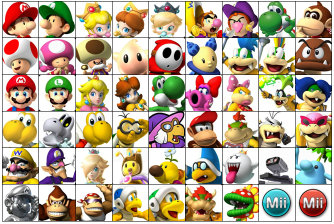 Mario Kart Wii U Roster Larger By Koopatroopa3479 On