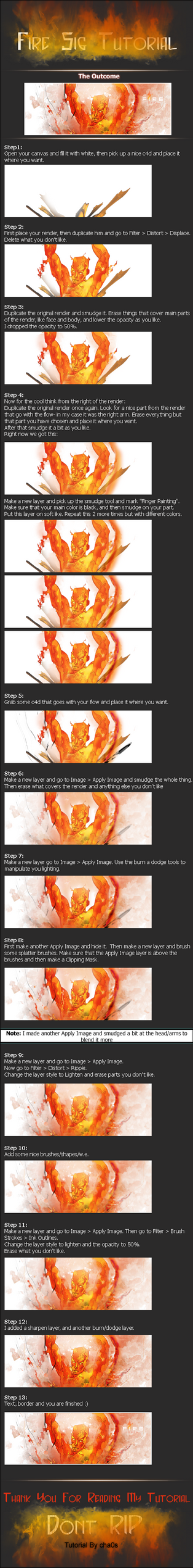 Fire Sig Tutorial by Chaos-Tutorials