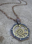 Nautilus Riveted Necklace