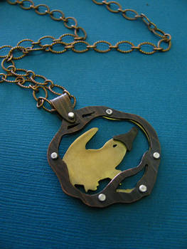 Platypus Riveted Necklace