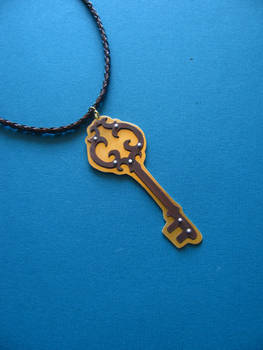 Skeleton Key Necklace 1