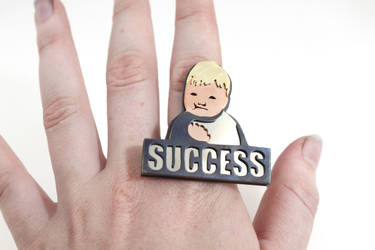 Success Kid Meme Ring by AbandonedMemory