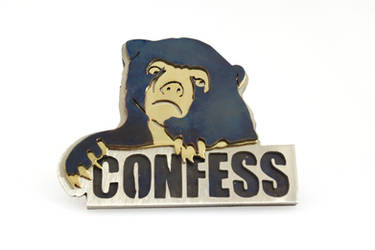 Confession Bear Meme Ring by AbandonedMemory