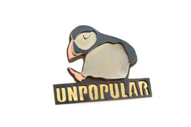 Unpopular Opinion Puffin Meme Ring by AbandonedMemory