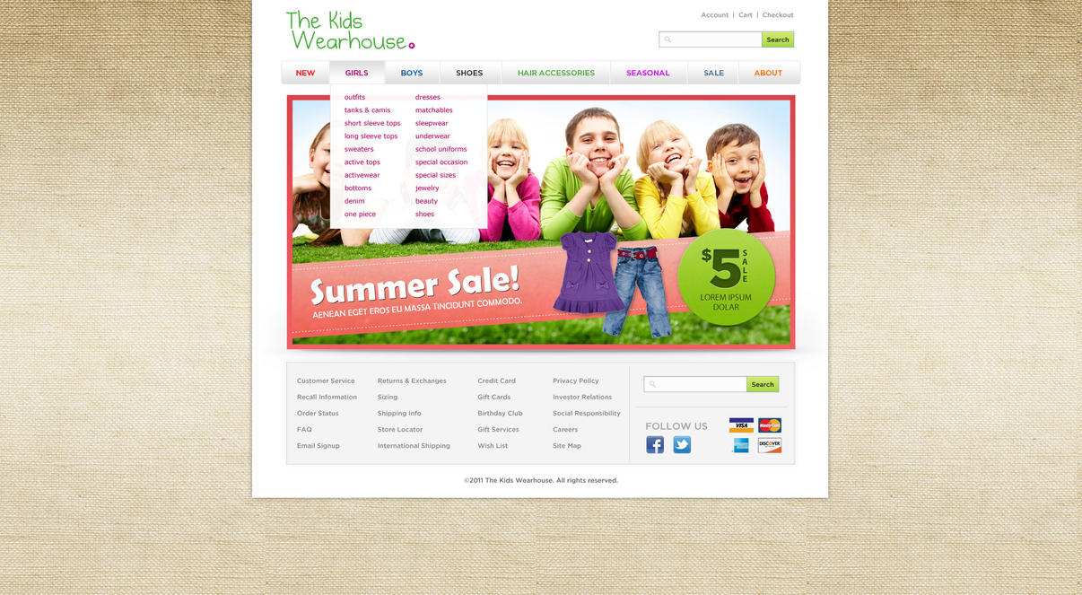 websites for kids clothes - Kids Clothes Zone