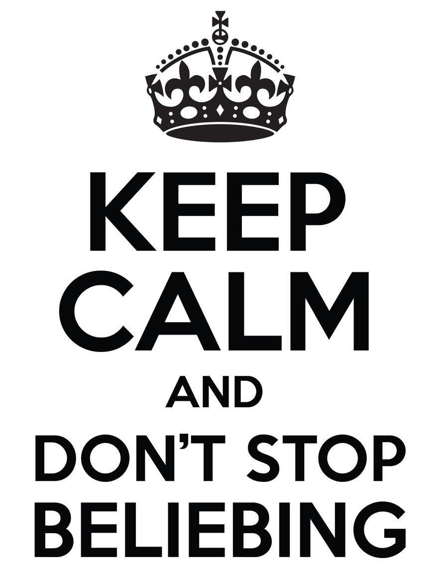 Design t shirt keep calm -  Belieber Keep Calm T Shirt Design By Danhaydenjr