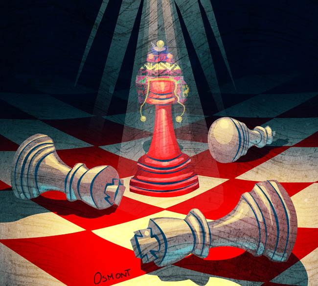 Peru chessmaster by Osmont2