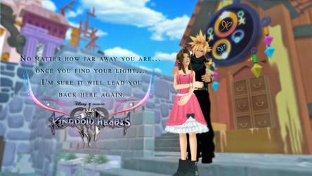 Clerith Week - DAY 2 : Kingdom Hearts III by MinasPassion