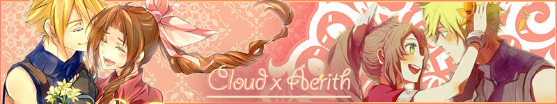 Cloud x Aerith Banner - May 2017