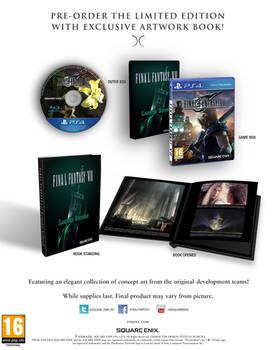 FF VII Remake Limited Fan Edition