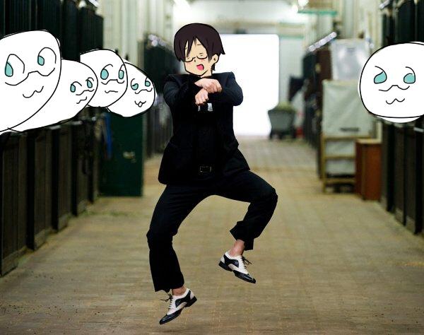 Gangnam!Hima by Takonomiyaki