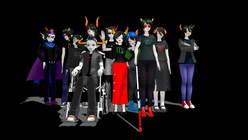 [MMD] Homestuck Trolls {DL LINKS IN DESCRIPTION} by IamDEFINITIONofCRAZY