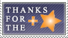 DA Thanks for the Fave Stamp by 2ravens72