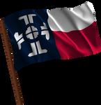 Waving Texas Federation (Fictional Flag)