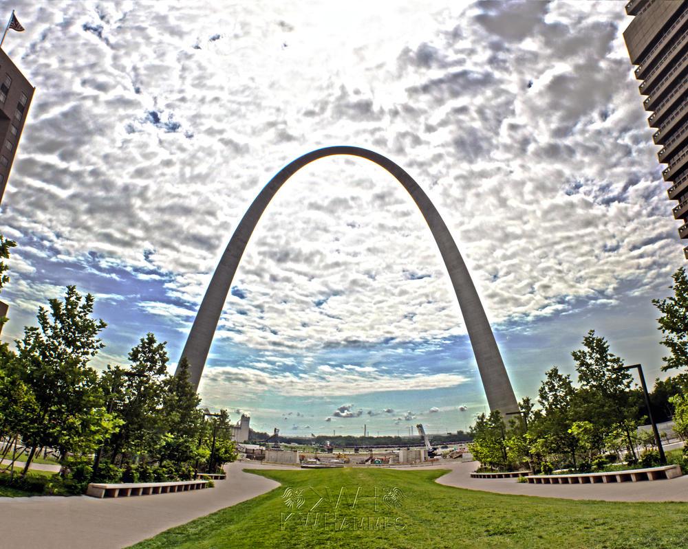 Gateway Arch by 2ravens72
