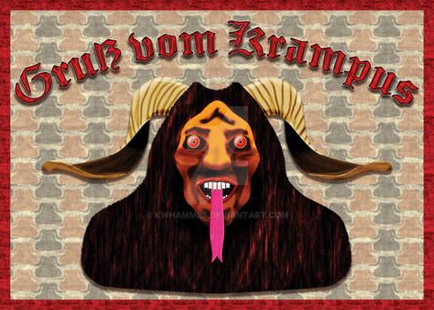 Krampus Card Front
