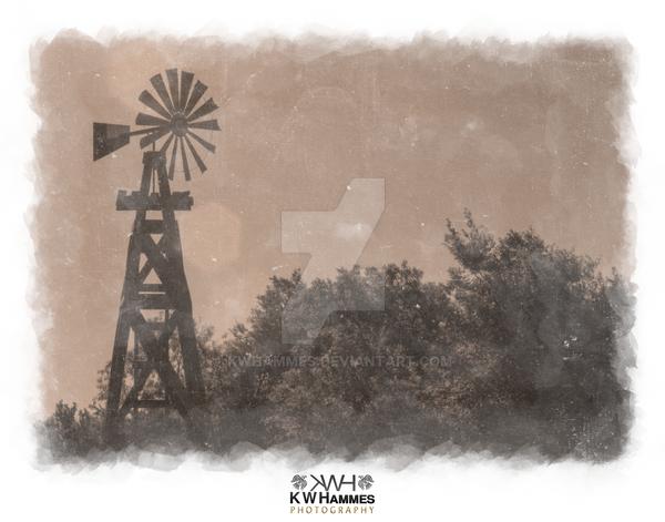 Windmill, Selma, Texas by kwhammes