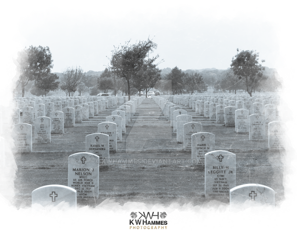 Fort Sam Houston National Cemetery 2 by kwhammes