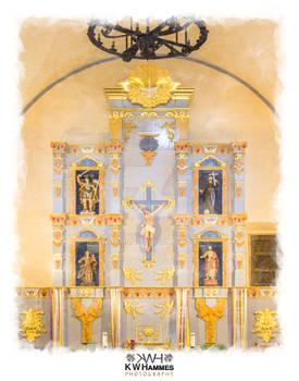 Mission San Jose - Altar - Color