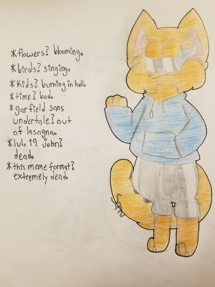 Garfield Sans Undertale By Samkoneko On Deviantart