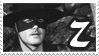 Guy Williams Zorro Stamp by boredx2