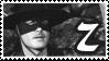 Guy Williams Zorro Stamp by boredx2