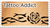 Tattoo Addict Stamp by boredx2