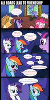 All roads lead to friendship (and screentime). by Epsilon-Chedi