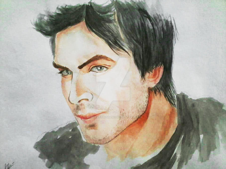 IAN SOMERHALDER by abstractbizaare