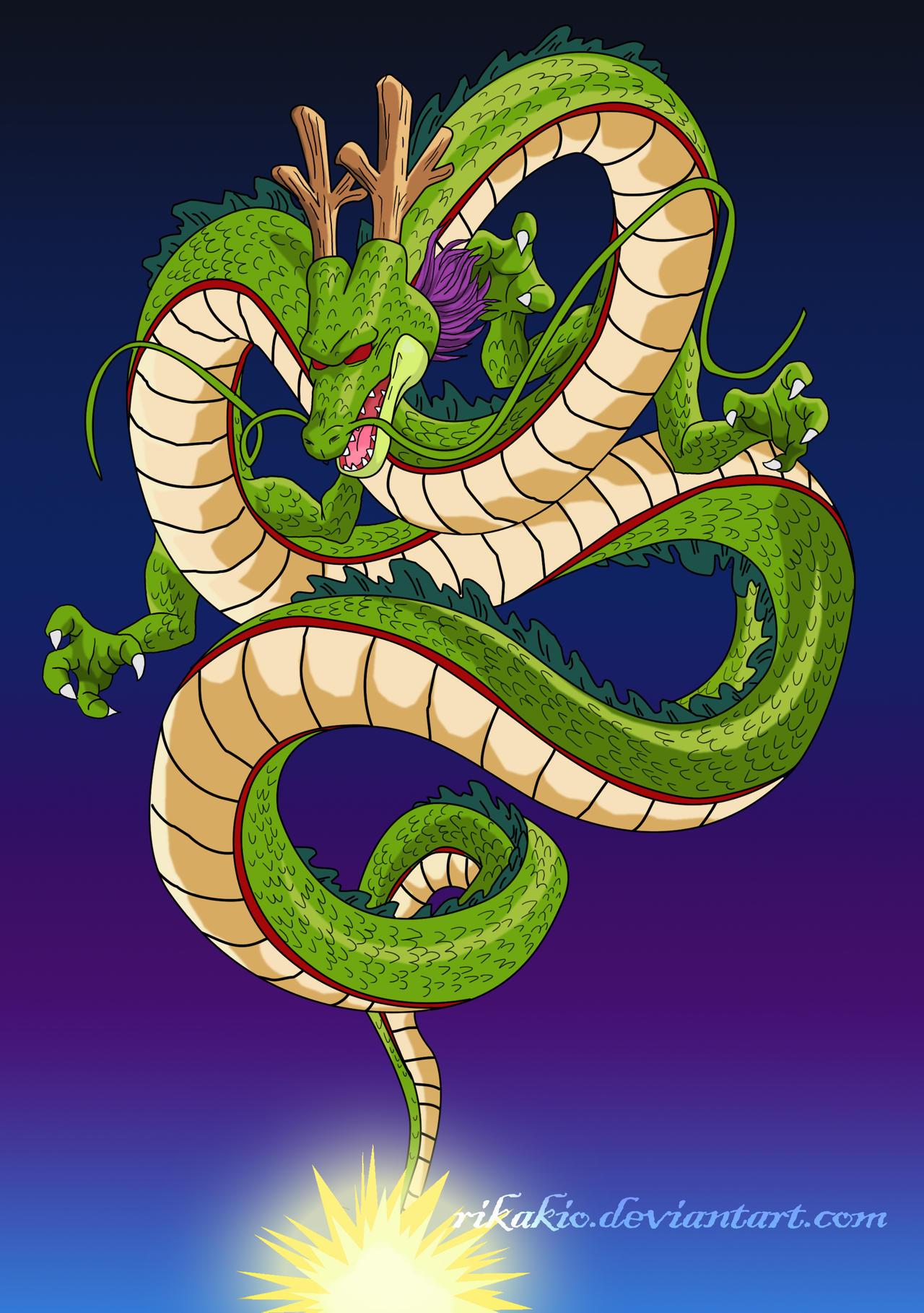 Mi post de shen long imagenes taringa for Dragon ball z decorations