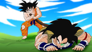 Goku Fight Raditz