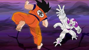 Goku Fight Freiza