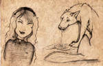 little red riding hood- sketch