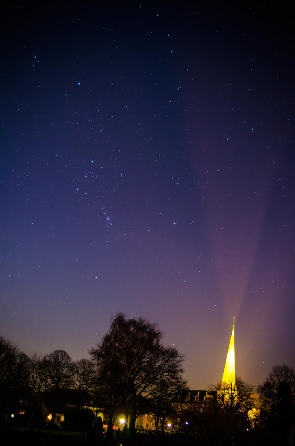 ..Kirche bei Nacht..