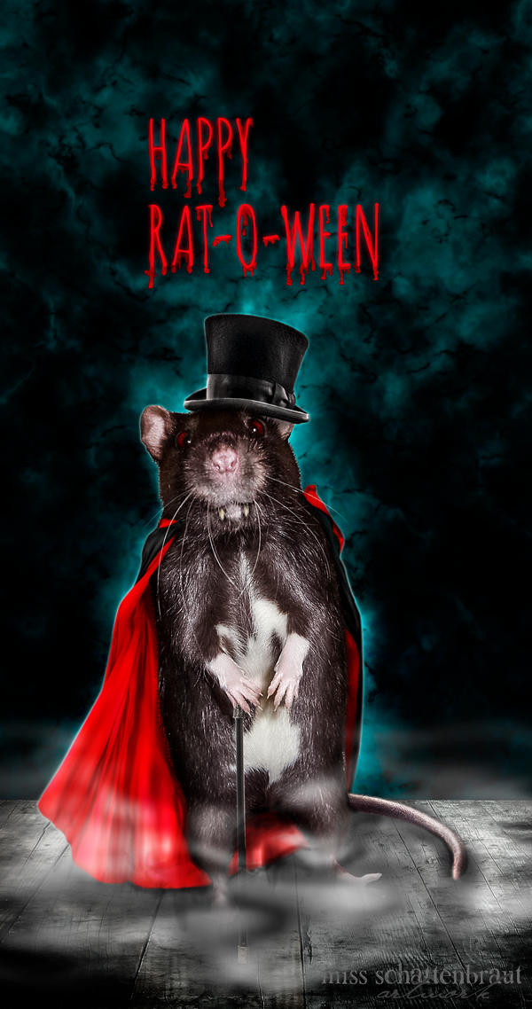 Happy Rat-O-Ween by Ginchen666