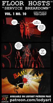 Floor Hosts: Service Breakdown Comic Strip, Vol. 1