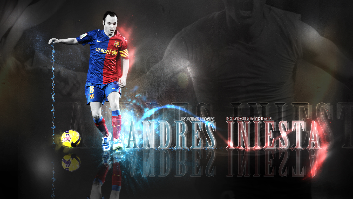 Andres Iniesta Wallpapers High Resolution and Quality Download