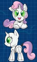 Input Name: Sweetie Belle by Rainbro-Stache