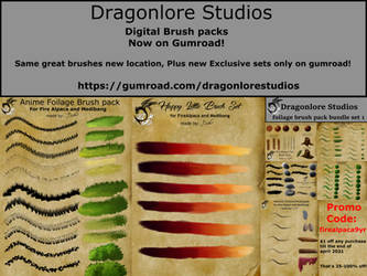 Brushes now on gumroad