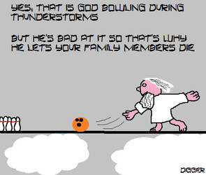 God fear and bowling by AntDigger